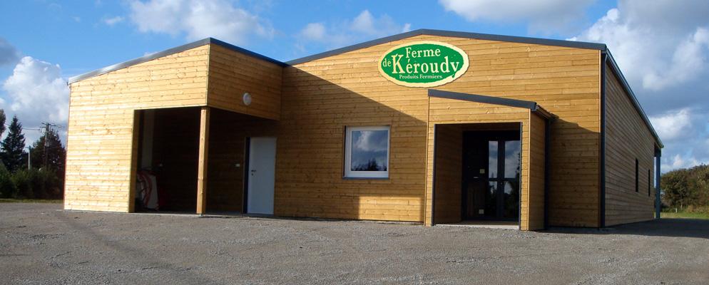 Le magasin de la ferme de Keroudy